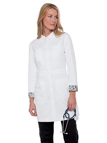KOI 419 Women's Rebecca Lab Coat White -