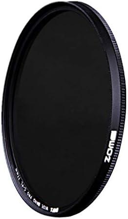 「Zomei」可変式NDフィルター バリアブルNDX 超スリム 可変式光量調節用 円減光フィルター[減光範囲 ND2~ND400] (517-0029) (52mm)