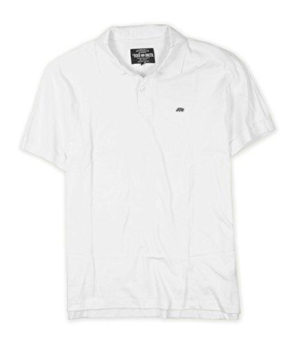 Ecko Unlimited Rhino - Ecko Unltd. Men's Wallburner Polo Shirt, Bleach White, Large