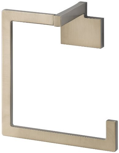 Brizo 694680 Towel Ring from the Siderna Collection, Brushed Nickel by Brizo