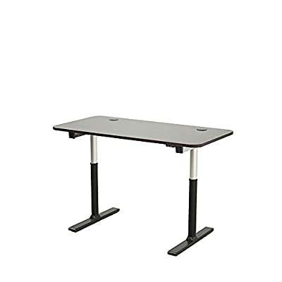 "Vortex Series 60"" 2-button Electric Height Adjustable Sit to Stand Desk"
