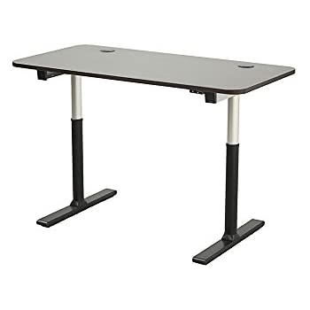 ApexDesk Vortex Series 60 In Wide 2 Button Electric Height Adjustable Sit  To Stand