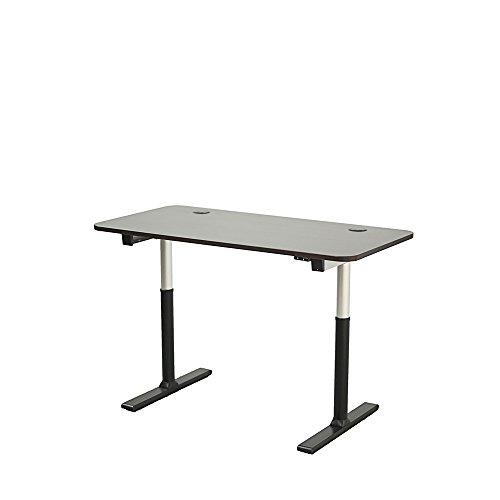 UPC 835712007746, ApexDesk Vortex Series 60-in Wide 2-Button Electric Height Adjustable Sit to Stand Desk (Espresso Top with Aluminum Frame)