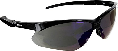 Azusa Safety REAPER AF O Premium SAFETY Glasses, Outdoor Shaded Smoke, Anti-Fog, Lightweight Polycabonate Lens, ANSI Z87+, UV Protection, Scratch Resistant (1 Pair), - Eye Glasses Shaded