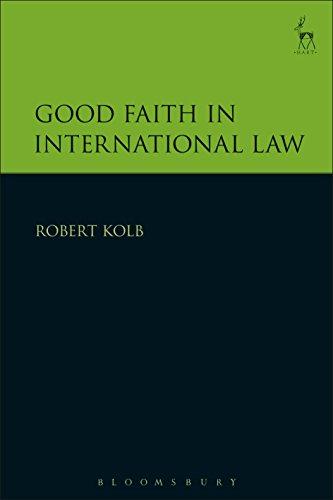 Good Faith in International Law