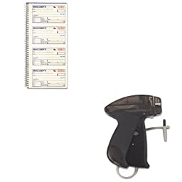 KITABFSC1152MNK925048 - Value Kit - Monarch Marking SG Tag Attacher Gun (MNK925048) and CARDINAL BRANDS INC. Two-Part Rent Receipt Book (ABFSC1152)