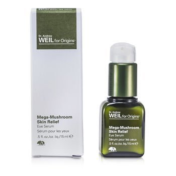 Origins Plantidote Mega-Mushroom Eye Serum To optimize skin's defenses 0.5 fl. oz. by Origins