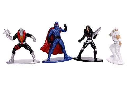 """Jada Toys G.I. Joe 1.65"""" Die-cast Metal Collectible Figures 6-Pack, Toys for Kids and Adults"""