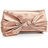 Deals on Tory Burch Eleanor Knotted Bow Clutch