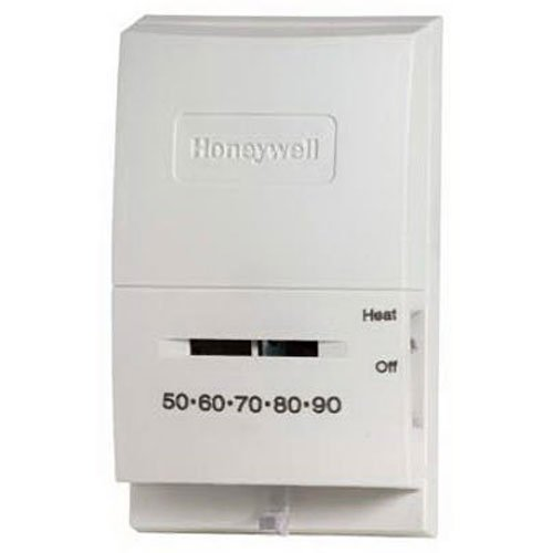 Gas Fireplace Thermostat - Honeywell CT53K1006/E1 Standard Millivolt Heat Manual Thermostat