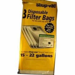 Shop Vac (SHV906-63-62) Filter Bags for 16-25G
