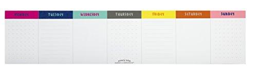 Iota Sticky Note Weekly Calendar, (Note Calendar)