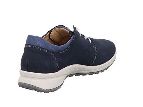 Ville Lacets Femme à de Bleu pour Chaussures Hartjes qOUa6