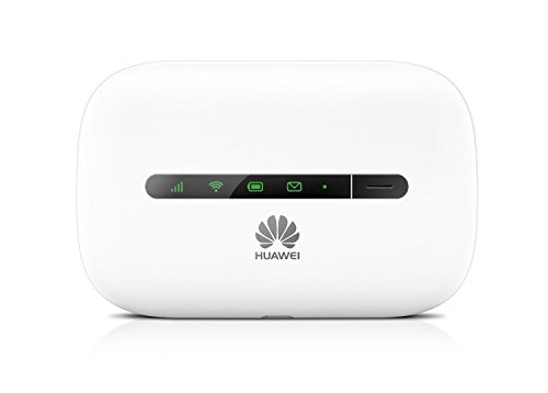 Huawei E5330Bs-6, 21Mbps 3G/4G Unlocked Mobile WiFi Hotspot (3G in the USA, Europe, Asia, Middle East, Africa, Venezuela…