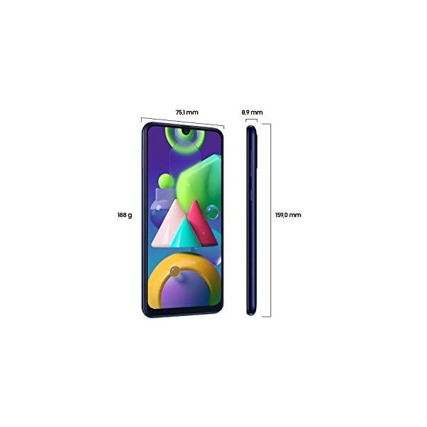 Samsung M215F Galaxy M21 LTE 4GB RAM 64GB Dual Azul