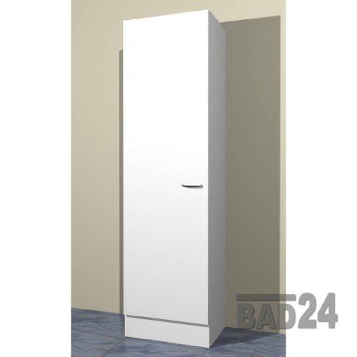 Küche-Seitenschrank/ Mehrzweckschrank 50x50 Start Melamin weiß/weiß