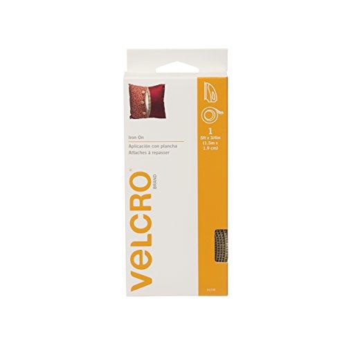 "VELCRO Brand - Iron On - 5' x 3/4"" Tape - Beige"