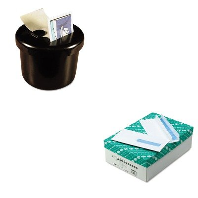 KITLEE40100QUA21438 - Value Kit - Quality Park Health Form Redi-Seal Security Envelope (QUA21438) and Lee Ultimate Stamp Dispenser (LEE40100) by Quality Park