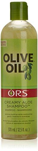 ORS Olive Oil Creamy Aloe Shampoo, 12.5 Fluid Ounce