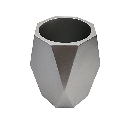 Hometopia Decorative Vase for Living Room (Silver)