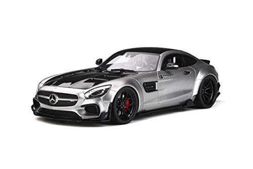 GT Spirit 2015 Mercedes-Benz AMG GT, Satin Silver GT723 - 1/18 Scale Resin Model Toy Car