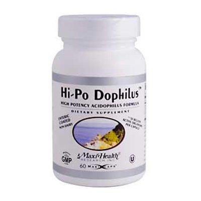 Hi Po Formula (Max Health Hi-Po Dophilus High Potency Acidophilus Formula - 60 Caps)