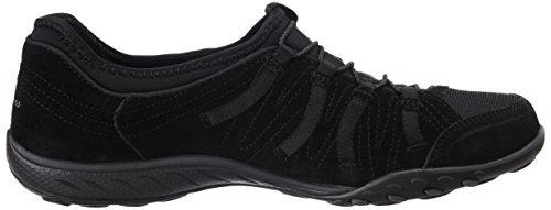 Skechers Breathe-Easy Big Bucks Damen Sneakers Schwarz (Blk)