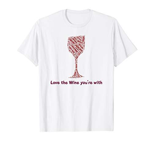 Red White Wine Chardonnay Cabernet Sauvignon Pinot tee -