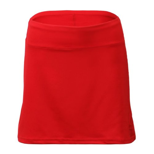 Cruise Control - Women's Sophisticated Speed Skort, Red by Cruise Control Gear