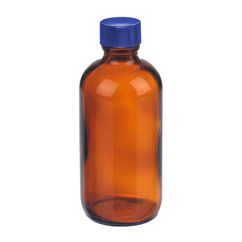 thermo-scientific-149-0500-100-series-type-iii-glass-amber-boston-round-bottle-unprocessed-with-ptfe