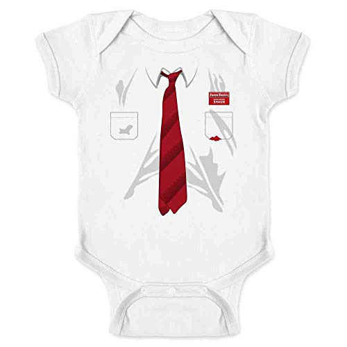 You've Got Red On You Halloween Costume White 6M Infant Bodysuit]()