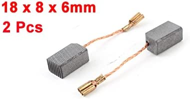 Pair, Uxcell a13102200ux0041 Electric Drill Motor Carbon Brushes 23//32 x 5//16 x 15//64 inch