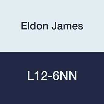 3//4-14 NPT Thread to 1//4 Barb Pack of 10 Eldon James L12-4BN Black Nylon Threaded Elbow