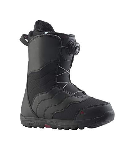 Boa Lock Boots Snowboard - Burton - Womens Mint Boa Snowboard Boots 2019, Black, 5