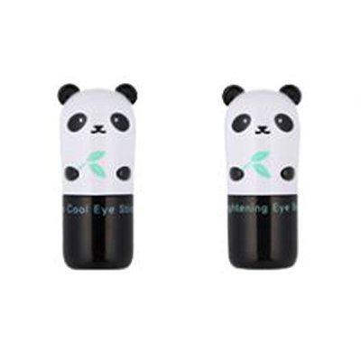 TONYMOLY Panda's Dream Brightening Eye Base + so Cool Eye Stick (2pcs Set)