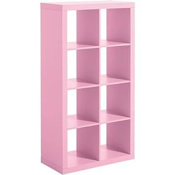Amazon.com: Modern Eight Square Cubbies Pink Closet Storage Unit ...