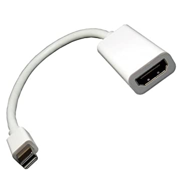 apple hdmi adapter. c\u0026e mini displayport to hdmi adapter for apple macbook pro, air, mac and hdmi i