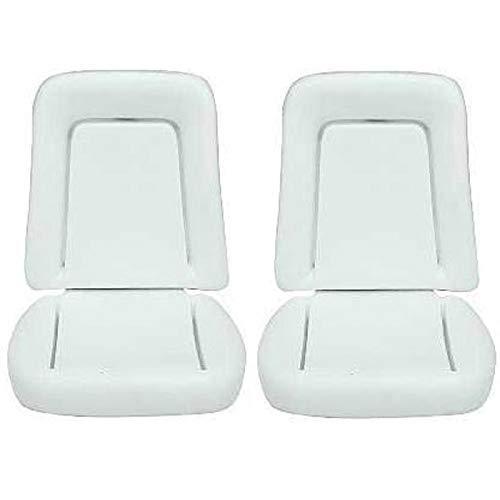 Eckler's Premier Quality Products 33-184168 Camaro Bucket Seat Foam Cushions, Deluxe Interior,