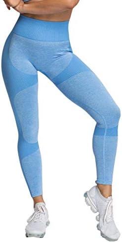 Pau1Hami1ton Damen Leggings Sporthose Fitnesshose Training Laufhose Sport Tights Hohe Taille Yogahose GP-06