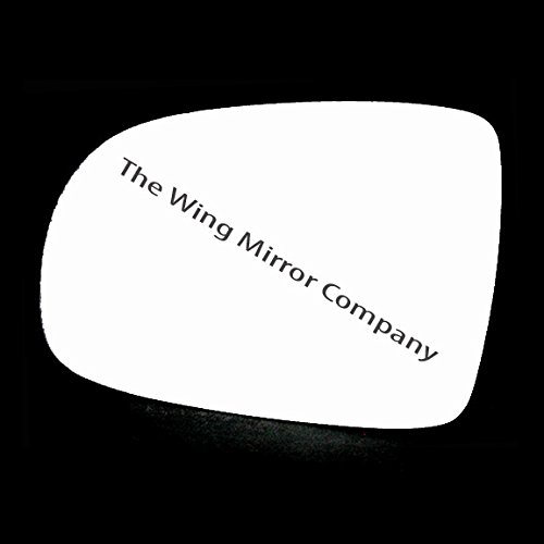 Silver Door / Wing Mirror Glass LH(Passenger Side) The Wing Mirror Company