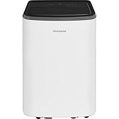 Frigidaire Portable with Remote Control for Rooms up to 350-sq. ft. Air Conditioner, 8,000 BTU, White