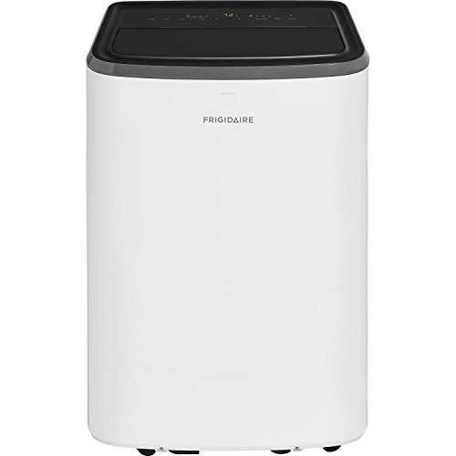 Frigidaire FFPA0822U1 Portable with Remote Control for Rooms Up to 350-Sq. Ft, White Air Conditioner, 8,000 BTU