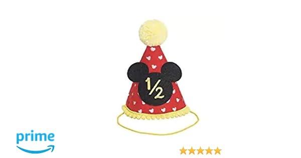 Amazon Half Birthday Mickey Party Hat