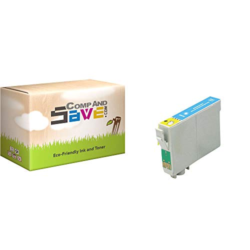 CompAndSave Replacement for Epson Stylus Photo R280 Printer Inkjet Cartridge, Epson T078520 Light Cyan Ink Cartridge