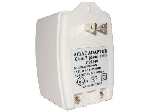 24V40AC 24V AC 40VA Transformer Input: AC 110V / 120V 60Hz Output: AC 24V 1660mA UL Listed 110V ()