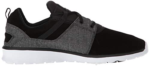 Shoe Dc Uomo Da Heathrow Wash Black Skate Casual F4Hawz