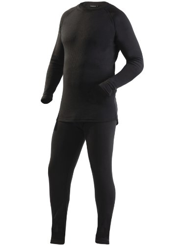 Ultrasport Herren Thermo Funktionsunterwäsche Set, schwarz, XL, 50207