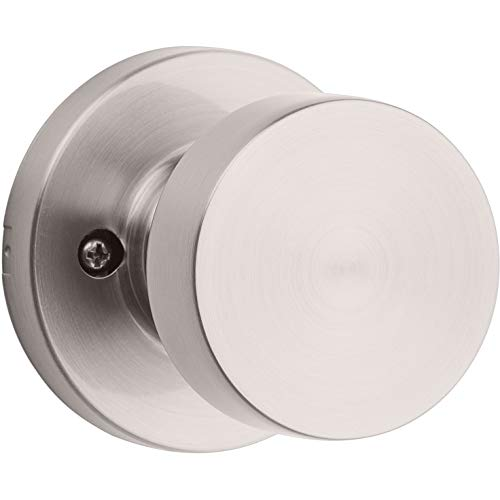 Kwikset 97880-936 Pismo Half-Dummy Inactive Door Knob, Satin Nickel