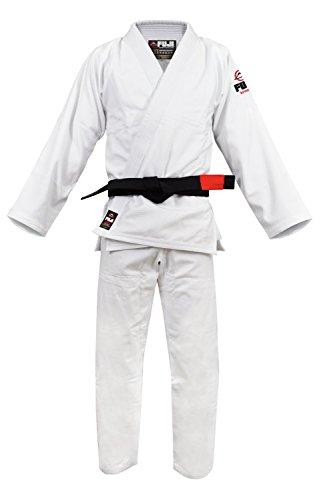 Fuji BJJ Uniform, White, A3