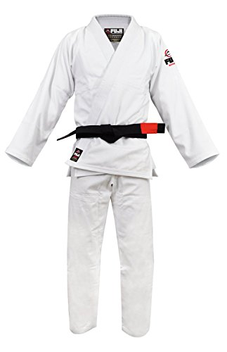 Fuji Bjj Uniform  White  A4